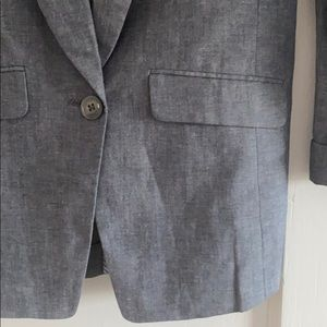 J. Crew Jackets & Coats - J.Crew Unstructured Blazer Cotton Linen